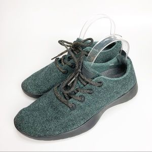 ALLBIRDS The Wool Runners Sneakers Green Men's 9